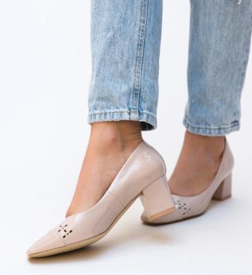 Pantofi Meg Nude