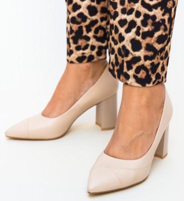 Pantofi Kit Nude