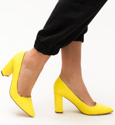 Pantofi Pauline Galbeni