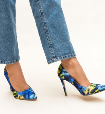 Pantofi Field Albastri