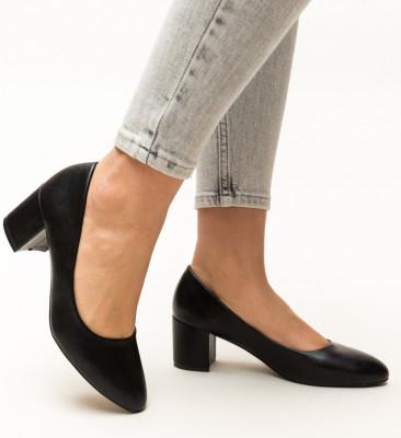 Pantofi Hummer Negri