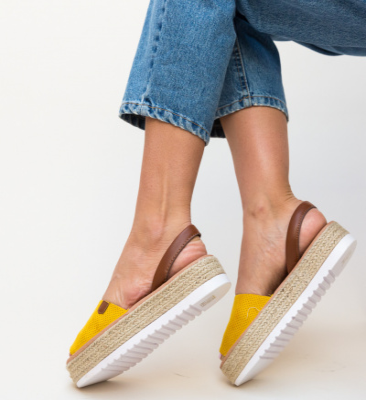 Sandale Milone Galbene