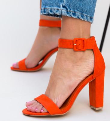 Sandale Semuel Portocalii
