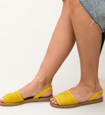 Sandale Peck Galbene