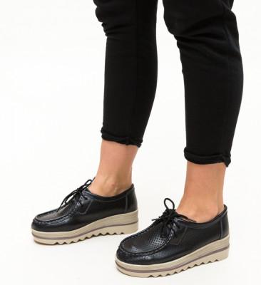 Pantofi Casual Torino Negri