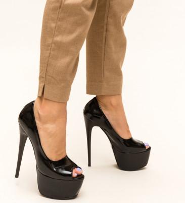 Pantofi Freyja Negri