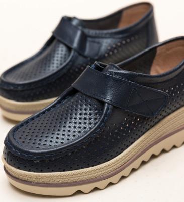 Pantofi Casual Histria Bleumarin