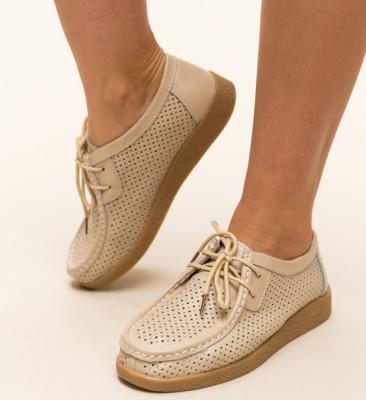 Pantofi Casual Yorker Bej