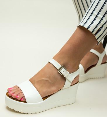 Sandale Nides Albe
