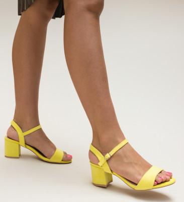 Sandale Aran Galbene
