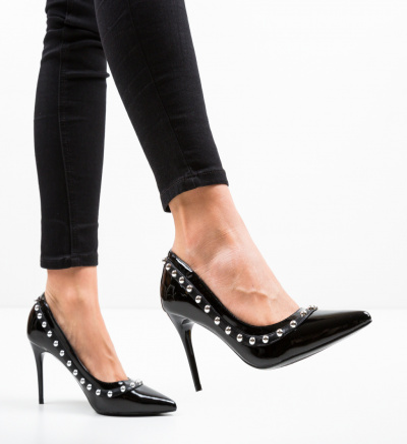 Pantofi Aisli Negri