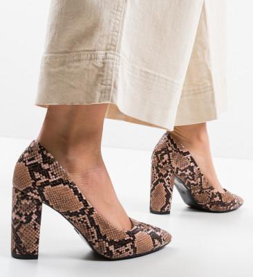 Pantofi Amal Roz