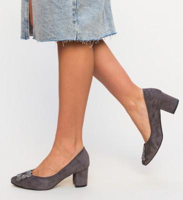 Pantofi Broida Gri 2