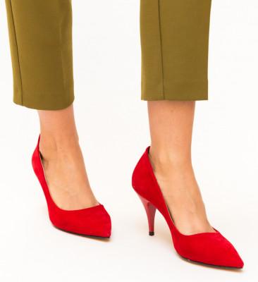 Pantofi Buhas Rosii