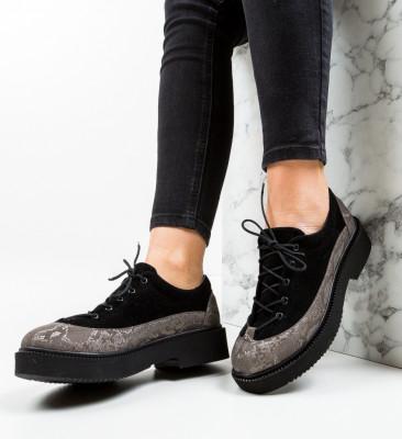 Pantofi Casual Alexo Negri 5