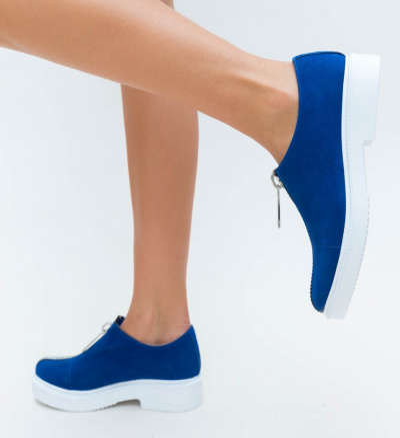Pantofi Casual Beuda Albastri