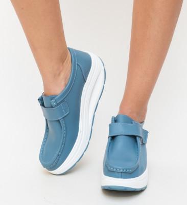 Pantofi Casual Bimbi Albastri