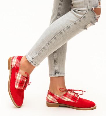 Pantofi Casual Biskrem Rosii