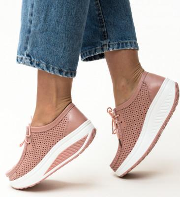 Pantofi Casual Blanken Roz