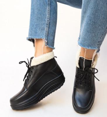 Pantofi Casual Blind Negri
