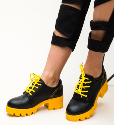 Pantofi Casual Ceho Galbeni
