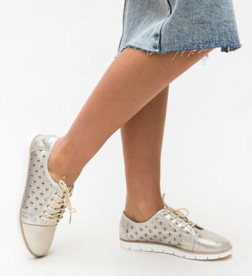 Pantofi Casual Clegg Aurii
