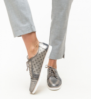 Pantofi Casual Clegg Gri