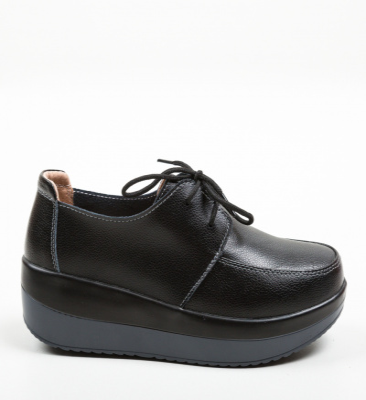 Pantofi Casual Creamt Negri