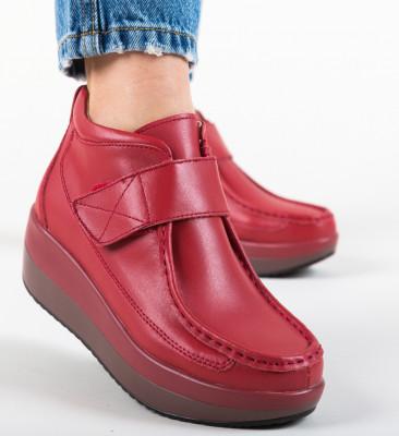 Pantofi Casual Euan Rosii