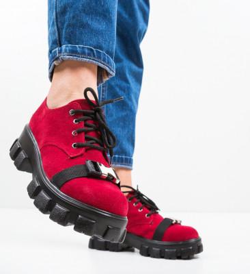 Pantofi Casual Gibraltar Rosii