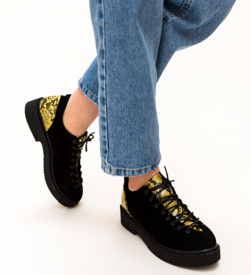 Pantofi Casual Janos Negri 4
