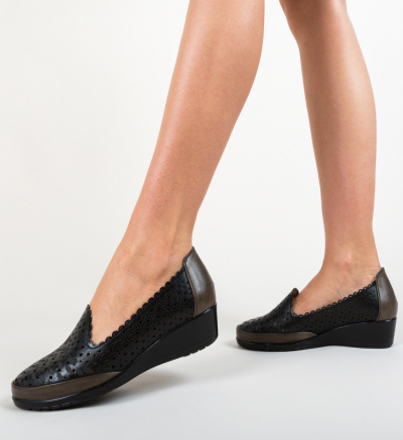 Pantofi Casual Kiloza Negri
