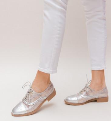 Pantofi Casual Linda Argintii