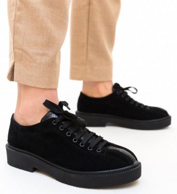 Pantofi Casual Lukos Negri 5