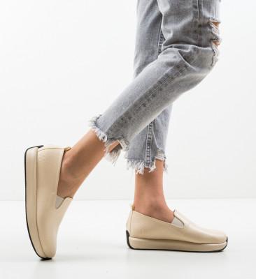 Pantofi Casual Malter Bej