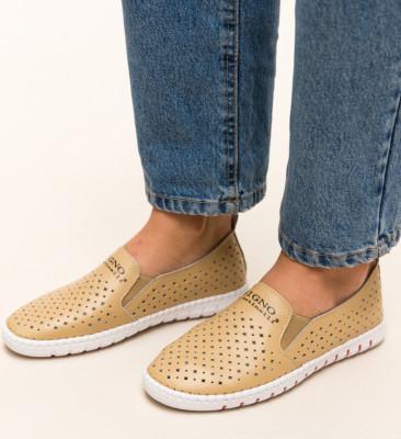 Pantofi Casual Mauritio Bej