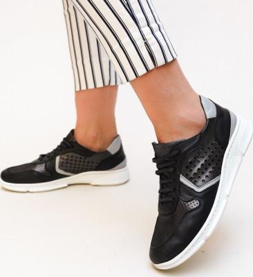 Pantofi Casual Meldy Negre