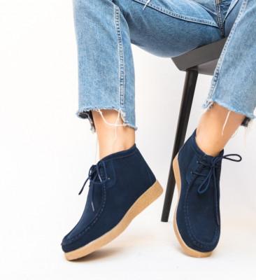 Pantofi Casual Melta Bleumarin