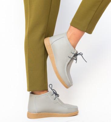 Pantofi Casual Munela Gri