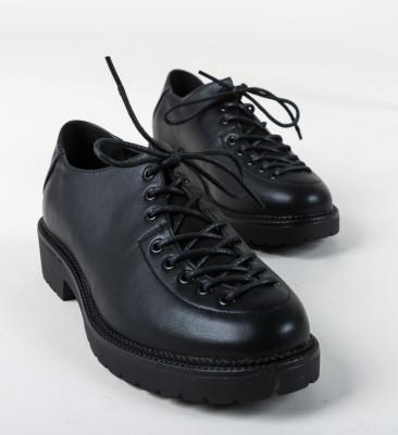 Pantofi Casual Nial Negri