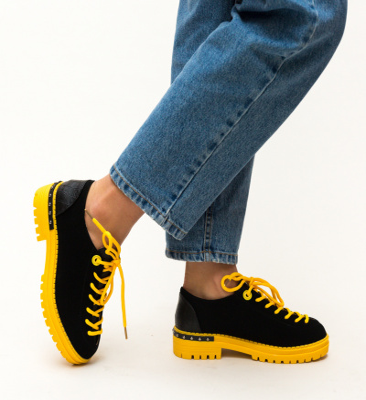 Pantofi Casual Palermo Galbeni