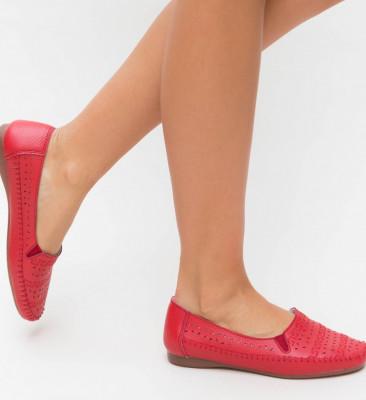 Pantofi Casual Pastio Rosii