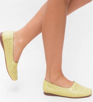 Pantofi Casual Pastio Verzi