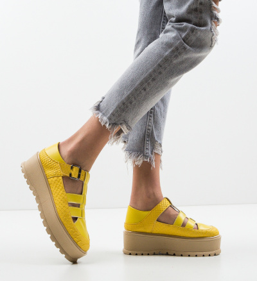 Pantofi Casual Ramada Galbeni