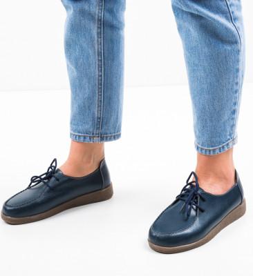 Pantofi Casual Raq Bleumarin