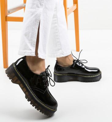 Pantofi Casual Riley Negri