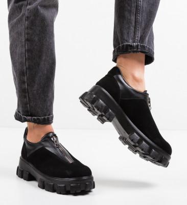 Pantofi Casual Rosiori Negri