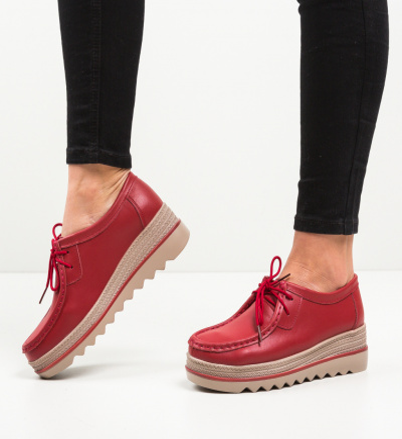 Pantofi Casual Sag Rosii