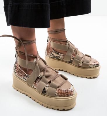 Pantofi Casual Sesane Bej