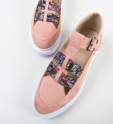 Pantofi Casual Sonicx Roz 2